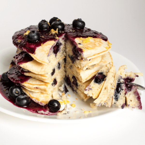 Blueberry Pancakes Recipe From Scratch