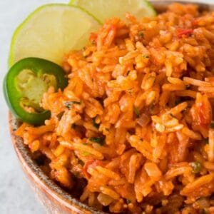 Delicious better than restaurant quality Mexican rice is easy to make at home!
