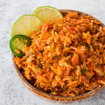 Arroz Mexicano Estilo Restaurante
