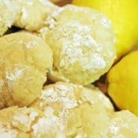 وصفة الكوكيز بالزبدة والليمون - بسكويت الليمون المجعد