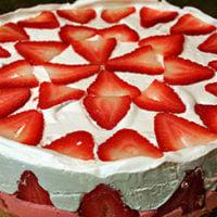 No Bake Strawberry Cream Pie Recipe