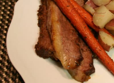 Slow Cooked Oven Baked Beef Brisket Recipe
