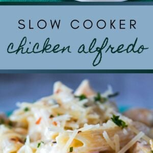 This Slow Cooker Chicken Alfredo Crock Pot Recipe is a weekday dinner idea that the whole family will love