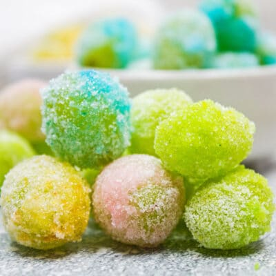 Colorful Candy Grapes (Candied Grapes)