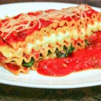 Resepi Lasagna Vegetarian Bayam Tumis