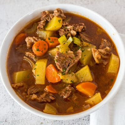 Beef Stew From Beef Bone Broth
