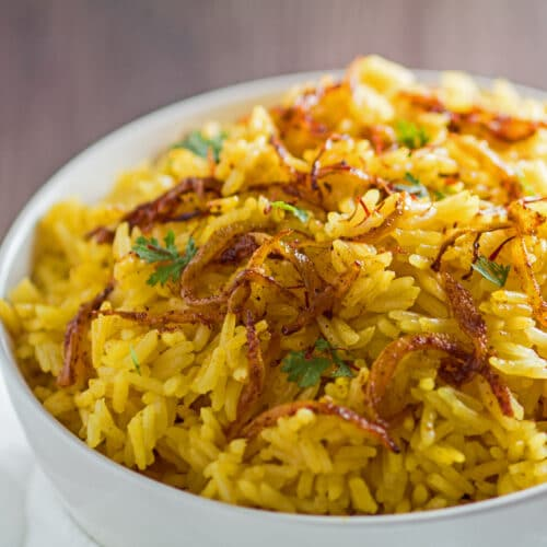 Saffron Jasmine Rice Fragrant Saffron Rice Bake It With Love