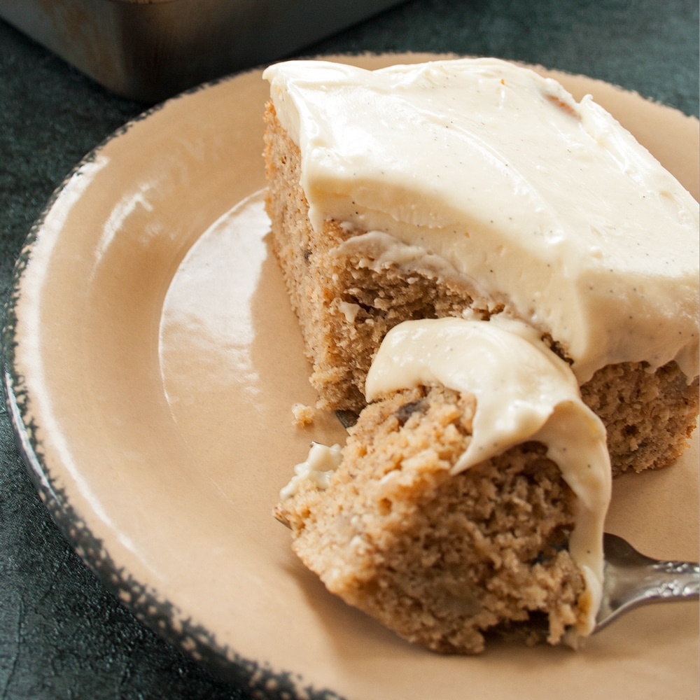 Cream Cheese Frosting Cake Refrigerate