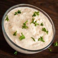 Creamy Horseradish Sauce