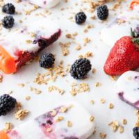 Popsicles Yogurt Yunani Berry Parfait