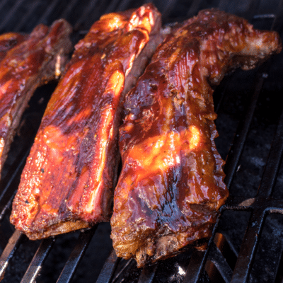 Sweet Chili Dry Rub Smoked Beef Ribs