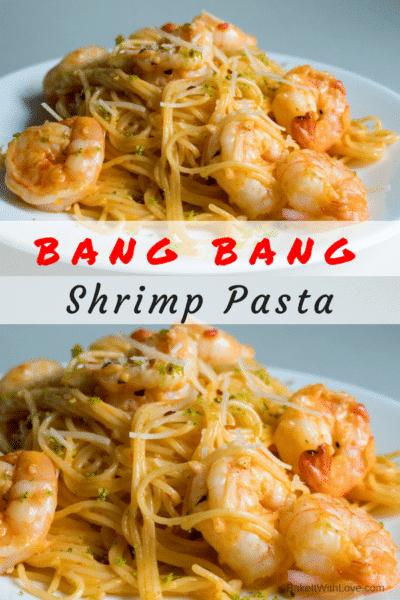 Bang Bang Pâtes Aux Crevettes