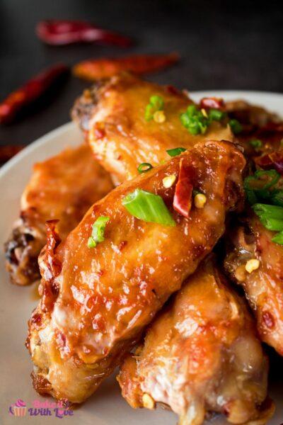 Вкусные острые куриные крылышки хунань - то, что вам нужно для любого случая