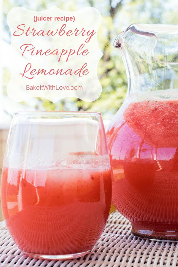 Strawberry Pineapple Lemonade Juicer Recept