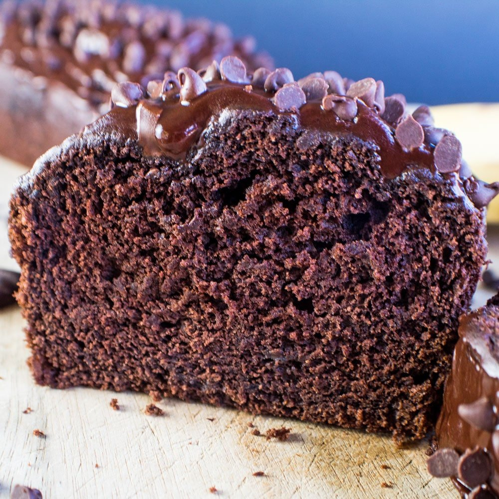 Our best and favorite Double Chocolate Banana Bread is so quick and easy to make with a one bowl method!