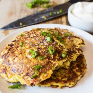 Mexikanska Corn Fritters är en god, lätt aptitretare redo att äta på bara några minuter!