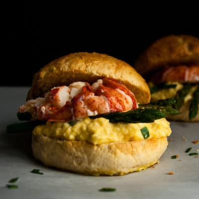 Lobster Breakfast Sandwich