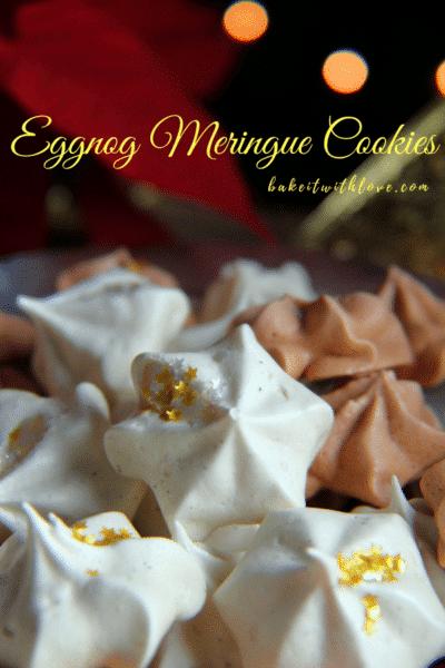 ¡Galletas de merengue con ponche de huevo y pan de jengibre deliciosamente especiadas!