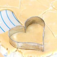 Receta clásica de galletas de azúcar enrolladas tradicionales.
