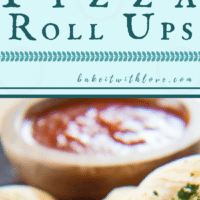 Stuffed Pizza Roll Ups are an easy crowd pleasing appetizer for any event!