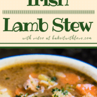 Our home made Irish Lamb Stew is made with grass fed lamb for melt in your mouth goodness!
