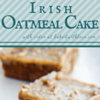 كعكة الشوفان الأيرلندية القديمة مع صقيع الكراميل البقان هي كعكة رطبة للغاية مخبوزة بشكل مثالي مع صقيع الكراميل المثالي والسهل على الموقد!