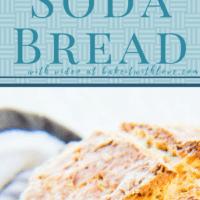 पारंपरिक आयरिश सोडा ब्रेड राउंड पाव पूरी तरह से और ठंडा।