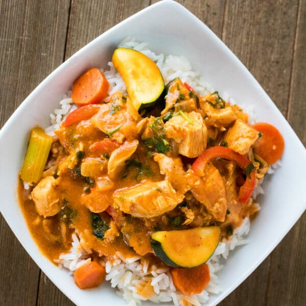 Curry de pavo sobrante