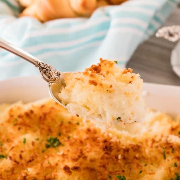 Let parmesan ristede kartofler