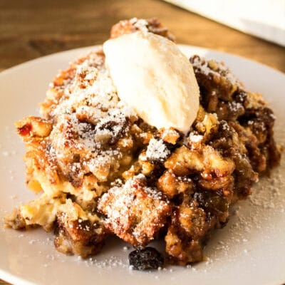 Chocolate Chip Banana Nut Bread Bread Pudding