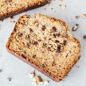 Chocolate Chip Banana Nut Bread