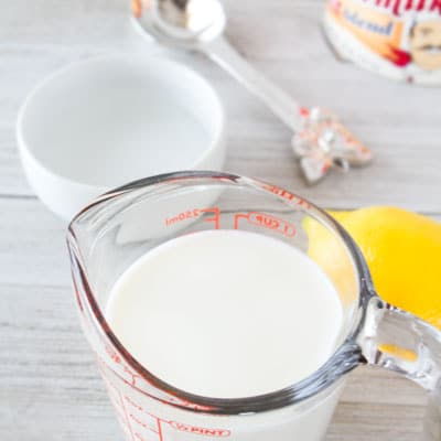 Here are 5 easy buttermilk substitutes for all of your buttermilk recipes!