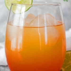 Delightfully refreshing fruit based Jamaican Rum Punch is a tropical favorite for all to enjoy!