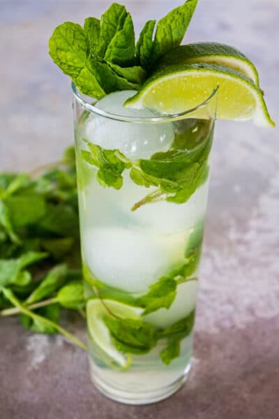 Den perfekte Vodka Mojito er nem at lave og en vidunderlig citruscocktail at nyde til Cinco de Mayo eller enhver dag!
