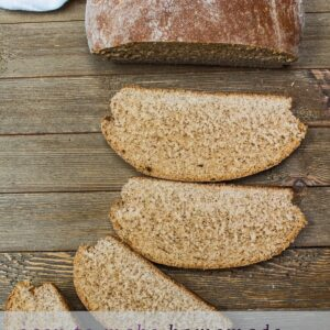 This easy homemade whole wheat bread from scratch recipe is definitely one to master for wonderful sandwich bread and superb rolls too!!
