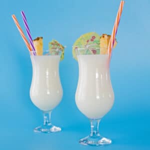 Pina Coladas are the perfect, refreshing summertime drink to enjoy!