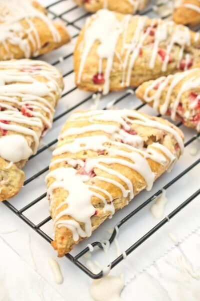 strawberries and cream scones from Served from Scratch