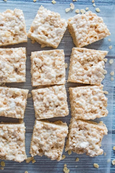Rice Krispies Treats are an easy to make no-bake dessert that all ages love!