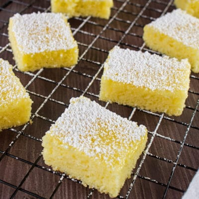 2 Ingredient Lemon Bars