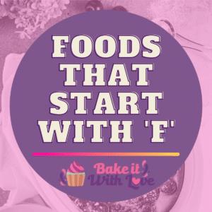Fødevarer, der starter med F