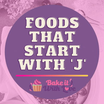 Foods That Start With J