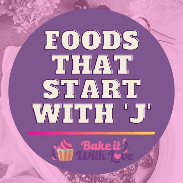 Fødevarer, der starter med J