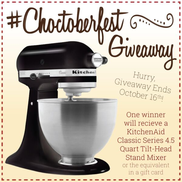 choctoberfest 2020 raffle giveaway graphic.