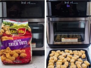 ore-ida-tater-tots-on-fryer-rack-ready-to-air-fry。
