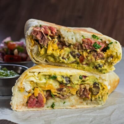 Natirang Punong Rib Burritos