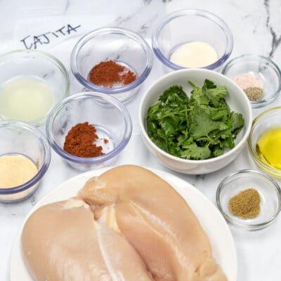 Marinade au poulet Fajita