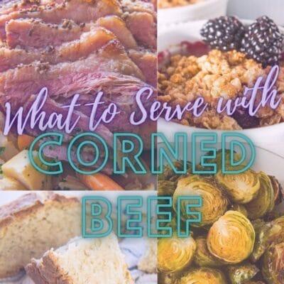 Vad man ska servera med Corned Beef Dinner