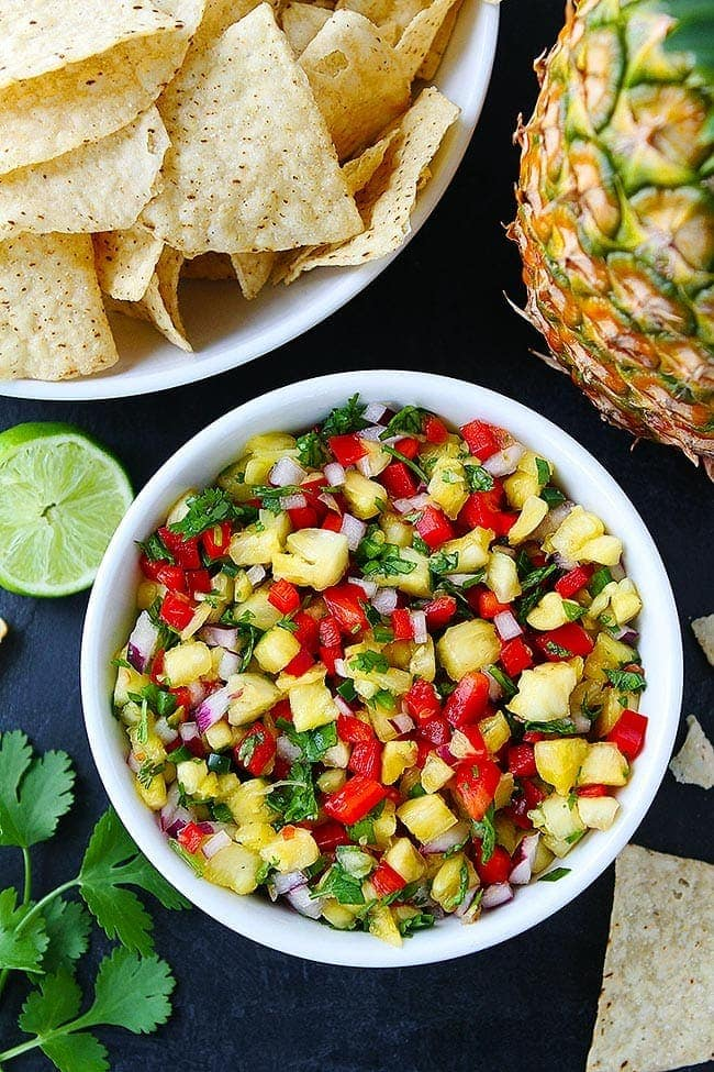 Pineapple-Salsa-from Two Peas and Their Pod.