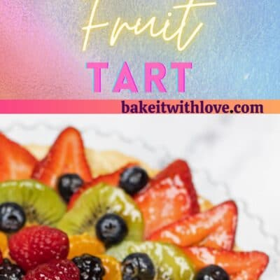 Tarte aux Fruits pin of 2 images.