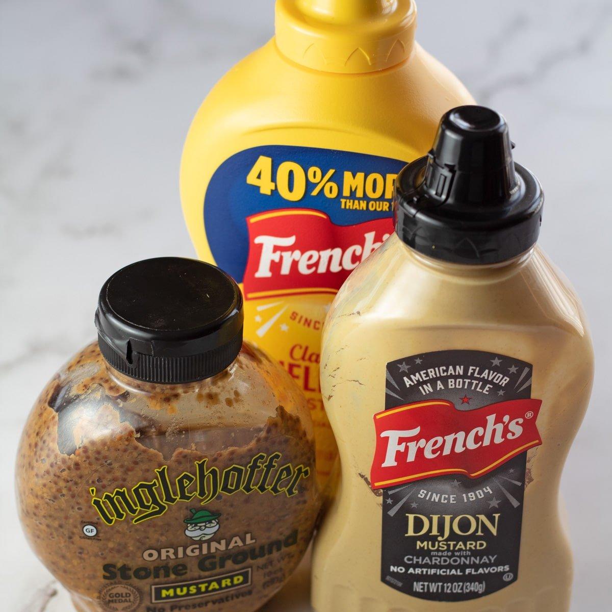 Dijon mustard substitute ideas.